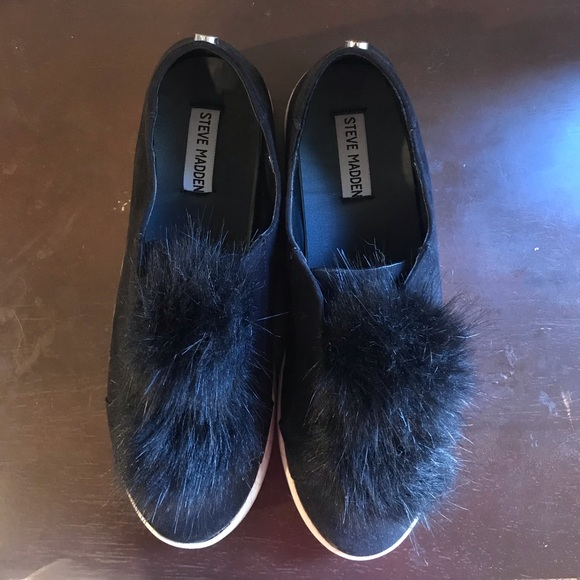 Steve Madden Shoes | Suede Shoe With